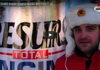 Sa RESURSOM motor radi i BEZ ulja (Video)